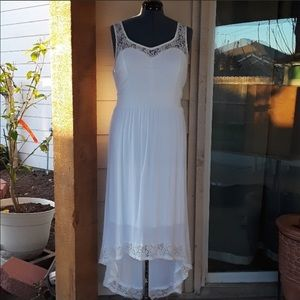torrid Dresses - Hi-Low maxi with lace trim